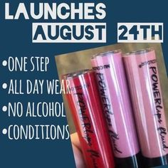 POWERlips Fluid - better than lipsense, one step, no glosses to buy!