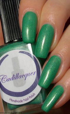 Green, Glaze & Glasses: Cadillacquer - The Woods