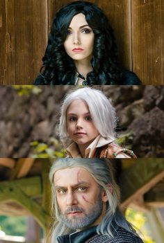 Fandom: The Witcher: Wild Hunt Photographer: Taras Levandovich Сosplayers: Natali M, Opiekun Cosplay, Yana Pidboljachna Character: Yennefer, Geralt, Cirilla Country: Ukraine