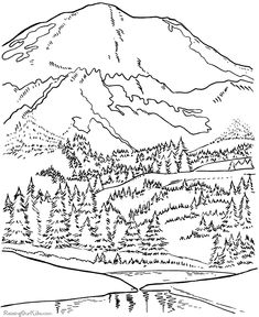 Arbor Day Trees Coloring Pages