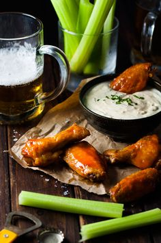 Truly Crispy Oven Baked Buffalo Wings - no false promises here, these wings really do taste as though they were fried!