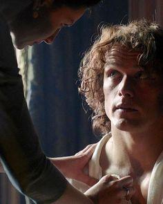Jamie y Claire Repost team-heughan (tumblr) #JamieFraser #ClaireFraser #JamieClaire #Outlander #OutlanderSeason2