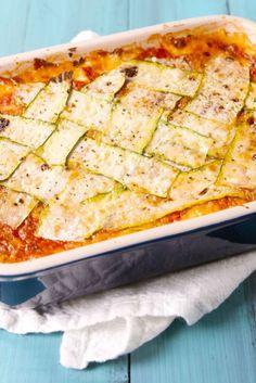 Zucchini Lattice Lasagna  - Delish.com
