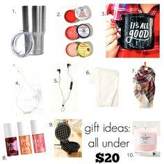 ten gifts under $20