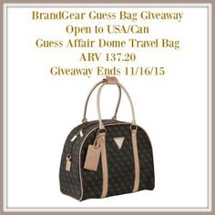 BrandGear Guess Bag Giveaway ends 11/16 - IMHO Views, Reviews and Giveaways