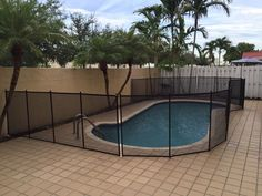 New Smyrna Beach - Having Baby Barrier pool fence helps protect your children and family visitors also. #PoolSafetyFence #PoolSafety #BabyBarrier