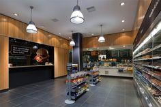 Sainsbury's Fresh Kitchen brandind & store design by Twelve Studio, London store design branding