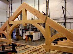 Hammer Beam Timber Truss - Specialty Beams