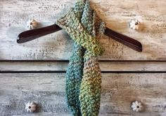 Green Coral Skinny Scarf - Handmade Knitted  https://www.etsy.com/listing/210357826/green-coral-skinny-scarf-handmade?ref=shop_home_active_7