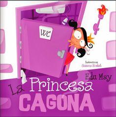 ::La princesa Cagona:: by Ed May - issuu Yoga For Kids, Children's Literature, Teaching Materials, Math Classroom, Kids Education, Teaching English, Book Design, Kids Learning, Storytelling