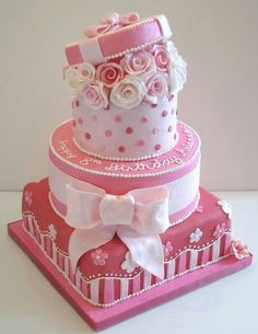 How about thisnfor the baby shower with just the top two layers?? Kind of like a hat box with a parisian feel?  Yes, no?