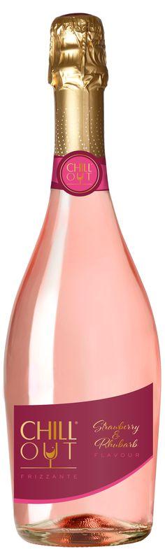 Chill Out Frizzante Strawberry Rhubarb - Kuohuviinit ja Samppanjat | Alko