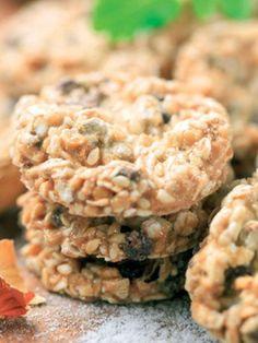 Ayçekirdekli keten tohumlu tuzlular Tarifi - Hamur İşleri Yemekleri - Yemek Tarifleri