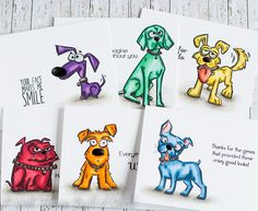 Houses Built of Cards: SSS Masterpiece Box Blog Hop and Giveaway. Tim hoots dog stamp set