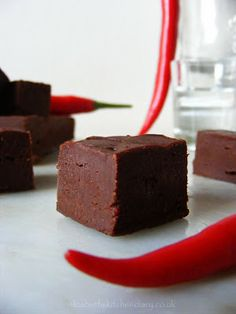 Vodka Chilli Truffle Fudge