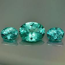 Paraiba tourmaline | unusual copper-bearing tourmaline, the blue-green Paraiba Tourmaline was first discovered in the Brazilian state of Paraiba in 1989 by a dedicated miner named Heitor Barbosa. |