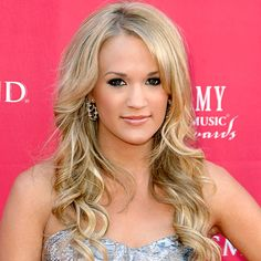 Carrie Underwood: My hair & Fashion Idol I'm pretty much jealous of everything she wears. :)