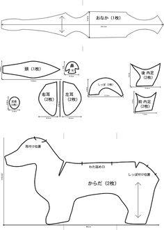 Patroon tekkel - #dachshund #template