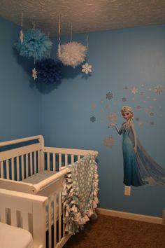 http://www.omahamoms.com Disney Frozen Elsa Bedroom Redecoration - Omaha Stay-at-Home Moms   Examiner.com