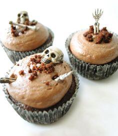 Living dead cupcakes