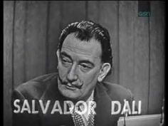 Watch Salvador Dalí as a Contestant on 'What's My Line?'