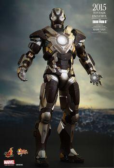 Hot Toys : Iron Man 3 - Tank (Mark XXIV) 1/6th scale Collectible Figure