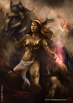 Valeria, the ruthless horsewoman
