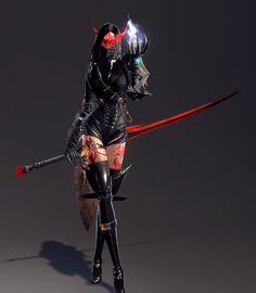 My Vindictus Arisha by AssassinWarrior