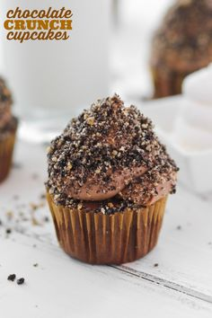 Chocolate Crunch Cupcakes Picture