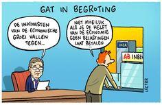 Cartoon van de dag - maart 2016 - De Standaard