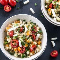 Greek Tomato-Feta Quinoa Salad