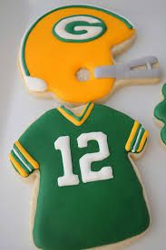 green bay packers jersey cookies image - Google Search