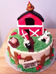 Farm cake (photo only)
