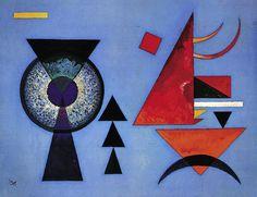 "Wassily Kandinsky - ""Soft Hard"", 1927"