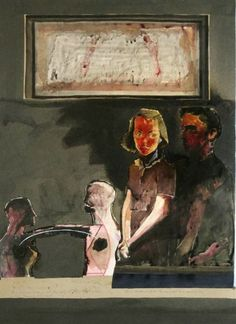 """Jacob & Barbara"" by Patrick Graham Artist Biography, Irish Art, Antique Paint, Art Auction, Contemporary Paintings, Face And Body, Graham, Modern Art, Sculptures"