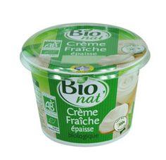 Crème fraîche 30% MG bio Bio nat' (40cl)