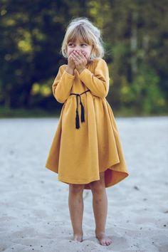 Sukienka Miodowa AW 2016/2017 - mizerkikids - Sukienki dla dziewczynek