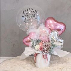 Balloon Box, Balloon Gift, Balloon Flowers, Balloon Bouquet, Paper Flowers, Balloon Arrangements, Balloon Centerpieces, Balloon Decorations Party, Valentine Decorations