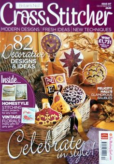 my favourite cross stitch magazine Cross Stitch Tree, Cross Stitch Bookmarks, Cross Stitch Books, Cross Stitch Cards, Beaded Cross Stitch, Cross Stitching, Cross Stitch Embroidery, Russian Cross Stitch, Magazine Cross