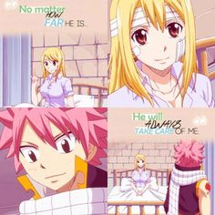 Fairy Tail Nalu scenes Episode 175