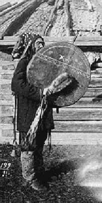 turge Khakassian shaman