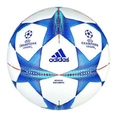 The goal for every club team in Europe is to win the Champions League. To show you are the best of the best. The Adidas Finale 15 official match ball is used during play to see who will get to go to Milan 2016 for the final match. This match soccer ball offers great touch and control while also looking great. Order your Adidas soccer balls today at SoccerCorner.com  http://www.soccercorner.com/Adidas-Finale-2015-Official-Champions-League-Match-p/eb-ads90230.htm