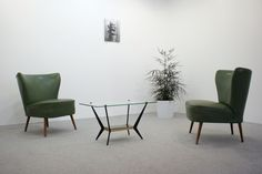 Green cocktail chairs