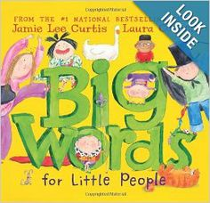 Big Words for Little People: Jamie Lee Curtis, Laura Cornell: 9780061127595: Amazon.com: Books