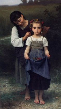 Pintura a óleo de William Adolphe Bouguereau✖️No Pin Limits✖️More Pins Like This One At FOSTERGINGER @ Pinterest✖️