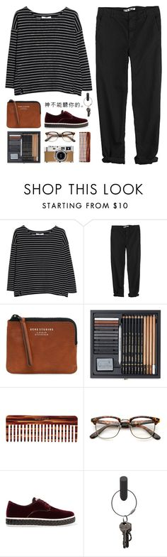"""""""Lucky Ones"""" by dianakhuzatyan ❤ liked on Polyvore featuring MANGO, GG 750, Acne Studios, Mason Pearson, Hermès, Miu Miu, PA Design, polyvoreeditorial and organized"""