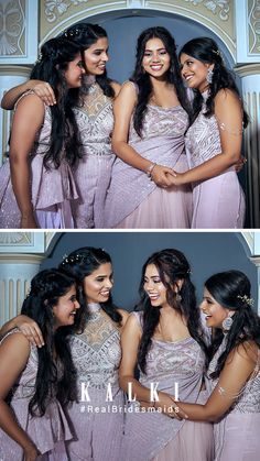 #Episode5 #RealBridesmaidsofKalki Are you not blessed with the best girlfriends in the world? Well, one of our #KALKIBrides has been fixed, and we planned on this one big 'Bride & Bestie' photoshoot for her and her #squad before she bids goodbye to singlehood.Also we got you a list of all sorts of 'must-have' picture ideas - from the cheesy ones to the most boujee ones. Episode 5, Picture Ideas, Besties, Girlfriends, Squad, Bridesmaids, Blessed, Photoshoot, Manga