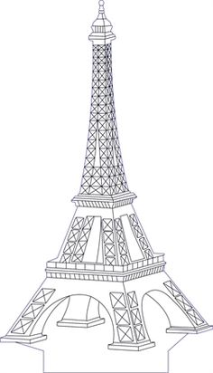 Eifel tower illusion vector file for CNC - 3d Laser, Laser Cut Wood, 3d Illusion Art, 3d Optical Illusions, Laser Cutter Projects, Christmas Stencils, 3d Cnc, Light Crafts, Thinking Day