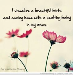 Pregnancy after loss affirmations