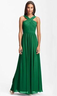 REVEL: Emerald Bridesmaid Dress
